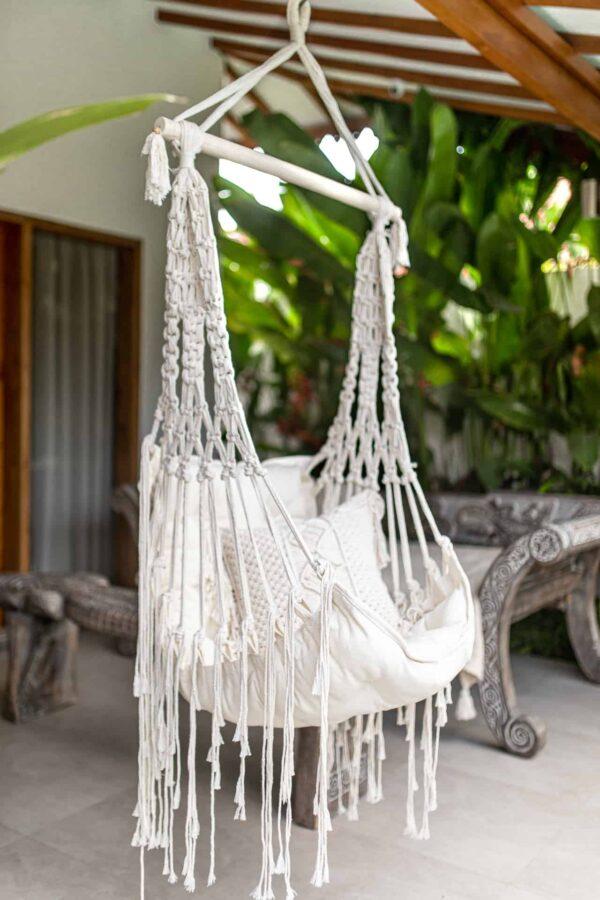 hamak brazylijski ręcznie pleciony na Bali handmade