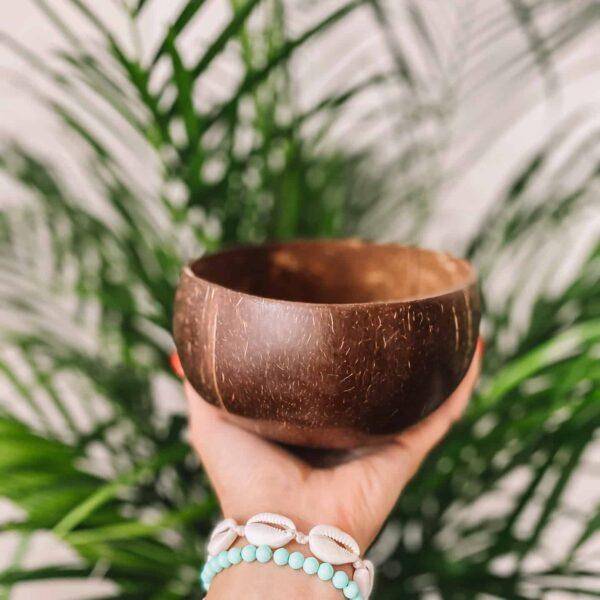Miska kokosowa ręcznie robiona