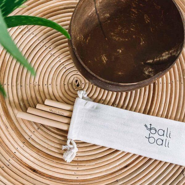 Słomki bambusowe eko