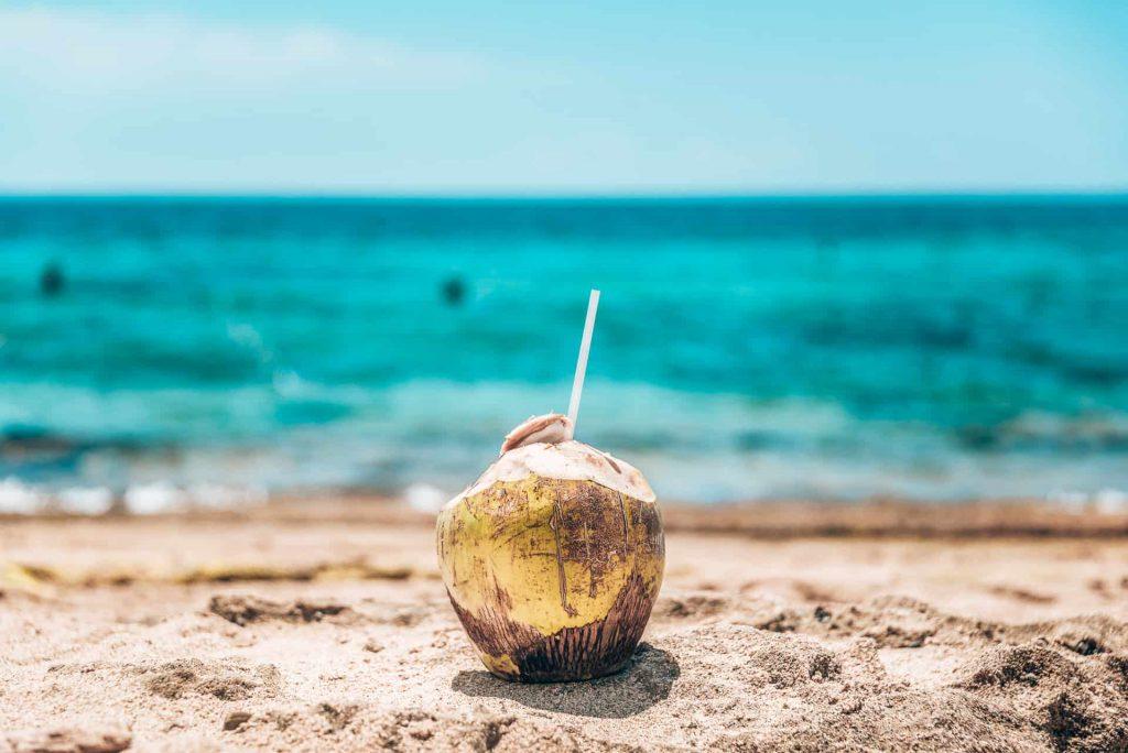 Woda kokosowa jest dobra dla zdrowia