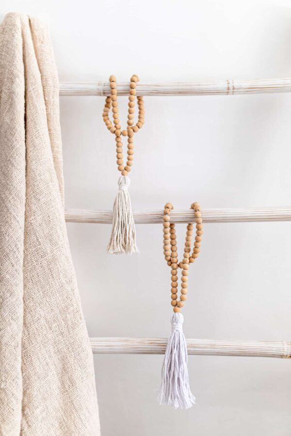 Wisior do zasłon ręcznie robiony z muszli