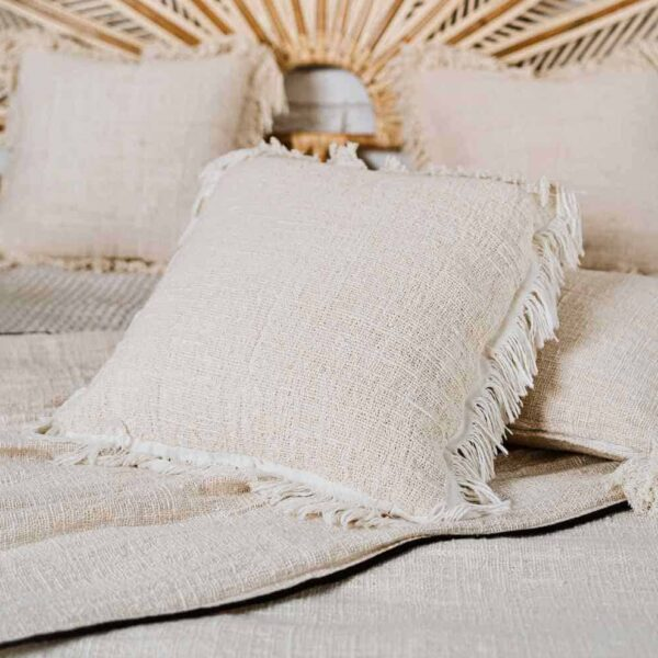 poszewka z surowej bawełny