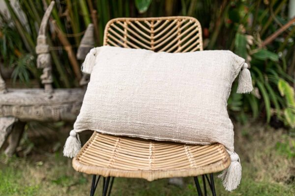 poszewka na poduszke 60 40 z surowej bawełny