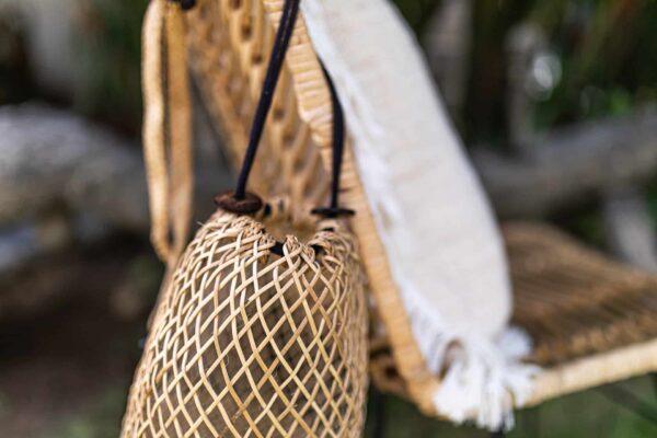 Plecak borneo rattanowy wykonany ręcznie