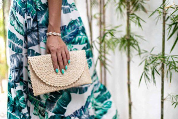 Kopertówka ręcznie robiona na Bali styl boho