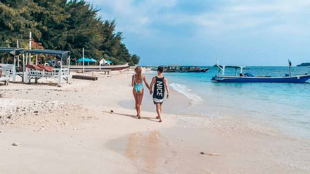 Wyspa Gili Air plaże