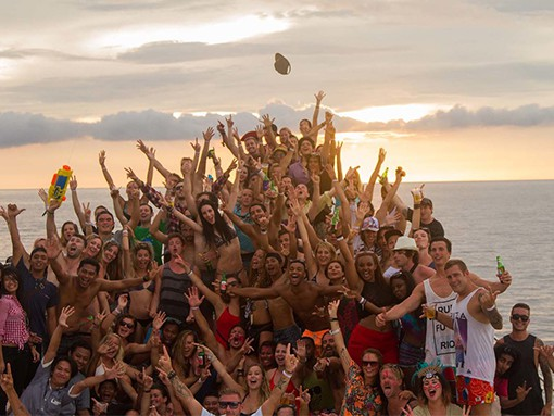Impreza nałódce wyspy Gili