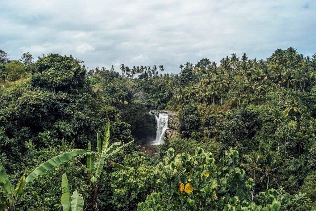 wodospady na Bali Ubud