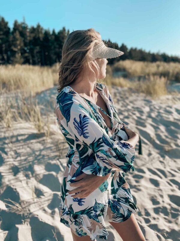 sukienka na plaże w stylu boho