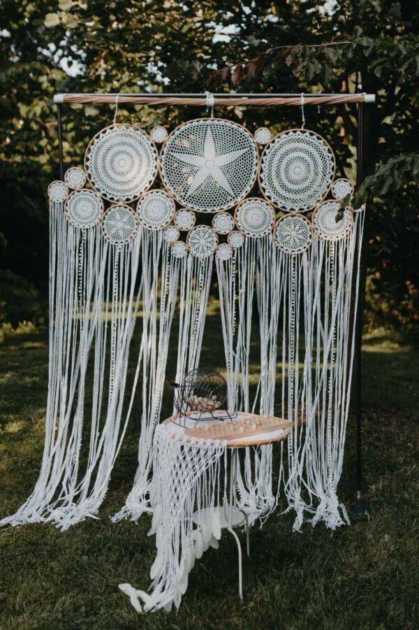 makrama na wesele pleciona na bali