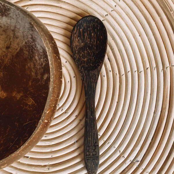 łyżka kokosowa sztućce