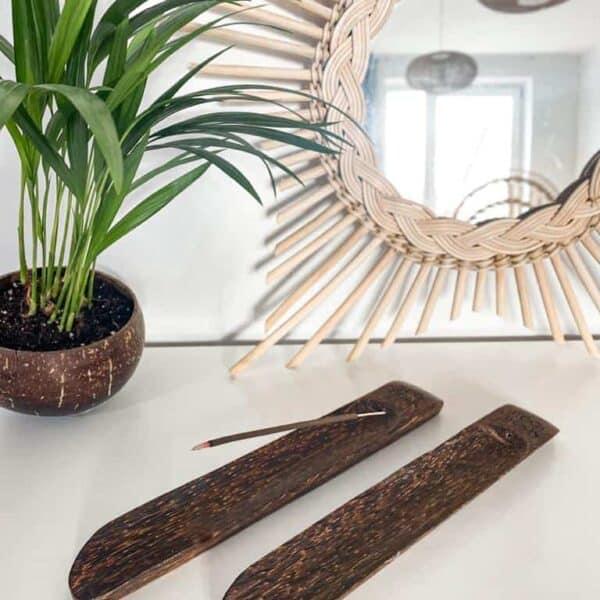 Podstawka na kadzidełka drewniana