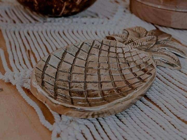 podstawka wkształcie ananasa