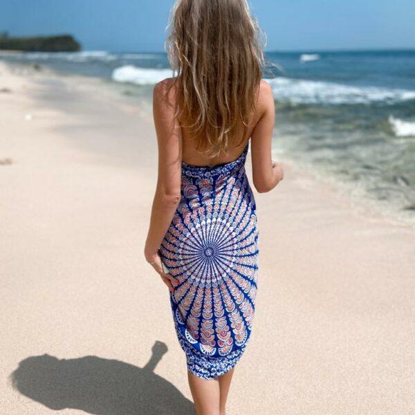 narzutka plażowa pareo