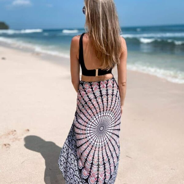 chusta plażowa pareo