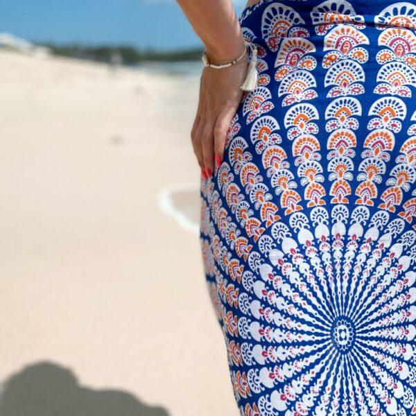 Stylowe pareo na plażę