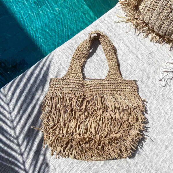 torebka plażowa z rafii