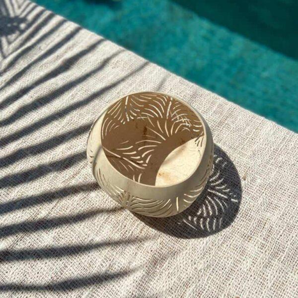 lampion z kokosa